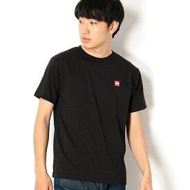 【THE NORTH FACE】Tシャツ(メンズ ショートスリーブスモールボックスロゴティー)/ザ・ノース・フェイス(THE NORTH FACE)