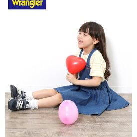 【WRANGLER×ROPE PICNIC KIDS】ジャンパースカート/ロペピクニック(ROPE' PICNIC)