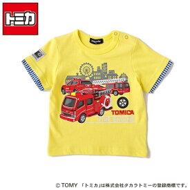 【トミカコラボ】車両プリントTシャツ/クレードスコープ(キッズ&ベビー)(kladskap)
