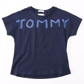 テキストロゴポケットTシャツ/トミーヒルフィガー(キッズ)(TOMMY)