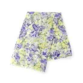 【UVケア】花柄ストール/クチュールブローチ(Couture Brooch)