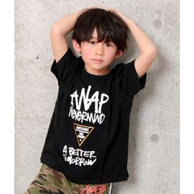 手描きロゴBIGTシャツ/アナップキッズ&ガール(ANAP KIDS&GIRL)