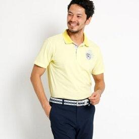 MTシャツ(【吸水速乾】【UVカット】シャドーボーダー 半袖ポロシャツ  メンズ)/アダバット(メンズ)(adabat(Mens))