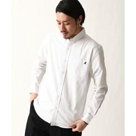 ZIP FIVE × KANGOL ワンポイント刺繍長袖ブロードシャツ/ジップファイブ(ZIP FIVE)