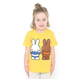 【キッズ】コラボレーションキッズTシャツ/ミッフィーとメラニー(ミッフィー)/グラニフ(graniph)