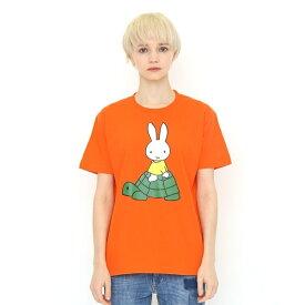 【ユニセックス】コラボレーションTシャツ/ミッフィーとカメ(ミッフィー)/グラニフ(graniph)