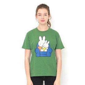 【ユニセックス】コラボレーションTシャツ/ミッフィーとあかちゃん(ミッフィー)/グラニフ(graniph)