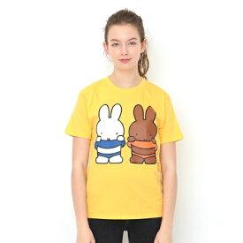 【ユニセックス】コラボレーションTシャツ/ミッフィーとメラニー(ミッフィー)/グラニフ(graniph)