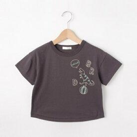 【80?130cm】恐竜ステッチTシャツ/シューラルー(キッズ)(SHOOLARUE Kids)
