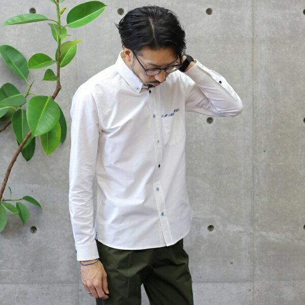 オックスBDシャツ/メンズメルローズ(MEN'S MELROSE)