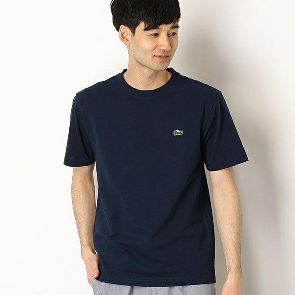 LACOSTEカノコワンポイントTシャツTH7418L/メンズメルローズ(MEN'S MELROSE)
