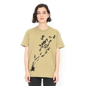 【ユニセックス】ベーシックTシャツ/ライフインザフォームオブノーツ/グラニフ(graniph)