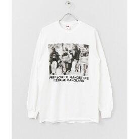 メンズTシャツ(VOTE MAKE NEW CLOTHES P.S.G PHOTO LS T-SHIRTS)/アーバンリサーチ(メンズ)(URBAN RESEARCH)