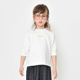 ロゴ7分袖ビックシルエットTシャツ/ブランシェス(branshes)