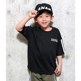 ミニ裏毛BACKプリントTOP/アナップキッズ&ガール(ANAP KIDS&GIRL)