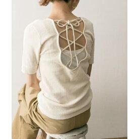 【一部店舗限定カラー】R JUBILEE Back Lace-up T-Shirts/アーバンリサーチ