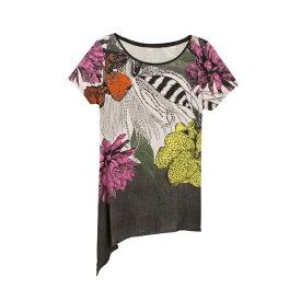 アシンメトリーTシャツ SIOUX/デシグアル(Desigual)