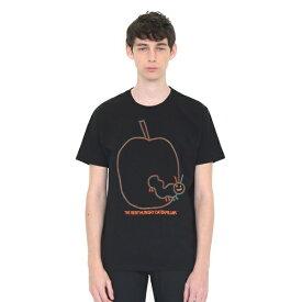 【男女兼用】コラボレーションTシャツ/スケッチアップルエンブロイダリー(エリックカール)/グラニフ(graniph)