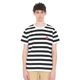 【男女兼用】コラボレーションTシャツ/ハートフェイス(エリックカール)/グラニフ(graniph)