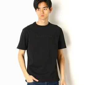 【WILDTHINGS/ワイルドシングス】EMBROIDERY LOGO Tシャツ/アドポーション(ADOPOSION)