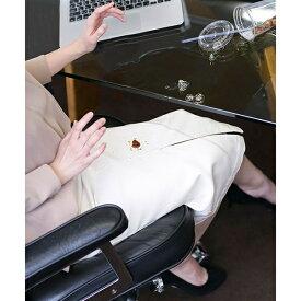 【WEB限定】【洗える】【NU LADYS】多機能超撥水タイトツイルスカート/ナノ・ユニバース(レディース)(nano universe)