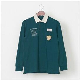 刺繍エンブレムデザインラガーシャツ/ゴールデンベア(メンズ)(GoldenBear)