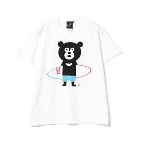 【SPECIAL PRICE】BEAMS T / Surfboard Bear Tee/ビームス(BEAMS)