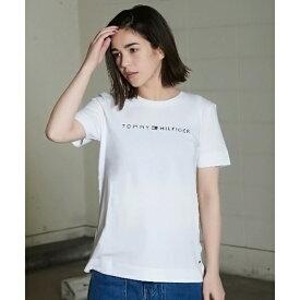 ロゴTシャツ/トミーヒルフィガー(レディース)(TOMMY)