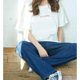【WEB限定】A WEEK Tシャツ/ロペピクニック(ROPE' PICNIC)