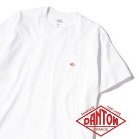 DANTON: ポケットTシャツ/シップス ジェットブルー(SHIPS JET BLUE)