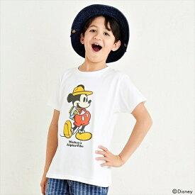 ミッキーTEE(OUTDOOR)【120cm〜160cm】/クリフメイヤーキッズ(KRIFF MAYER KIDS)