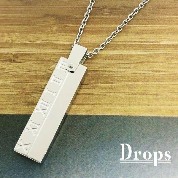 エターナリープレートチタンネックレス/ドロップス(Drops)