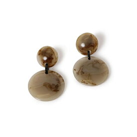 Marion Godart:RESIN 2CIRCLE EARRING/シップス(レディース)(SHIPS for women)