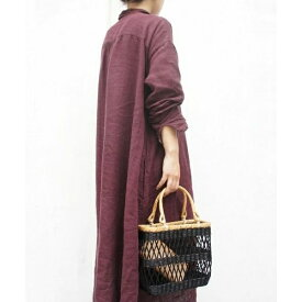 WICKER SQUARE TOTE/アースメイド(EARTHMADE)