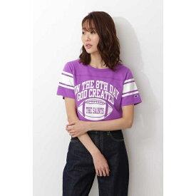 Champion フットボールTシャツ/ナチュラルビューティーベーシック(NATURAL BEAUTY BASIC)