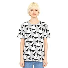【ユニセックス】マルチパターンTシャツC/ラインアップオリガミパンダ/グラニフ(graniph)