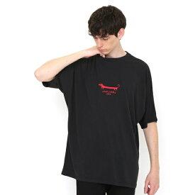 【ユニセックス】ドルマンTシャツ/ナガスギルイヌ/グラニフ(graniph)