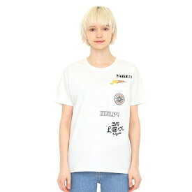 【ユニセックス】コラボレーションTシャツ/メニータイトルロゴ(ザビートルズ)/グラニフ(graniph)