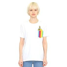 【ユニセックス】コラボレーションTシャツ/イエローサブマリンレインボーポケット(ザビートルズ)/グラニフ(graniph)