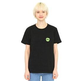 【ユニセックス】コラボレーションTシャツ/グリーンアップルロゴ(ザビートルズ)/グラニフ(graniph)