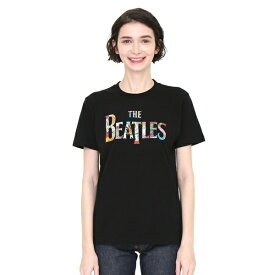 【ユニセックス】コラボレーションTシャツ/チケットロゴ(ザビートルズ)/グラニフ(graniph)