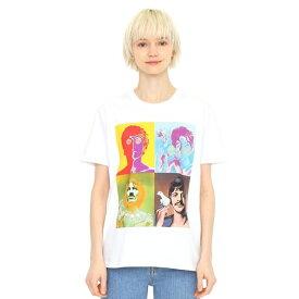 【ユニセックス】コラボレーションTシャツ/メンバーアート(ザビートルズ)/グラニフ(graniph)