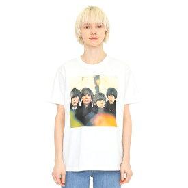 【ユニセックス】コラボレーションTシャツ/ビートルズフォーセール(ザビートルズ)/グラニフ(graniph)