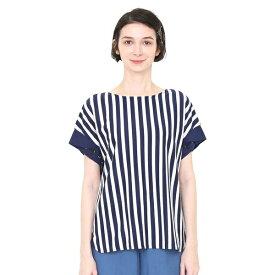 【レディース】刺繍カフスTシャツ/ザペンギンラブズフィッシュ/グラニフ(graniph)