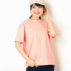 【店舗限定】ミニロゴ刺繍クルーネックTシャツ(Ladies')/アーノルドパーマー タイムレス(レディース)(arnold palmer timeless)
