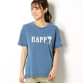 サガラ刺繍デニムライクロゴTシャツ/アーノルドパーマー タイムレス(レディース)(arnold palmer timeless)