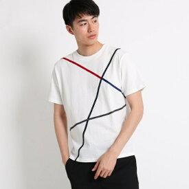 ラインTシャツ/ザ ショップ ティーケー(メンズ)(THE SHOP TK Mens)