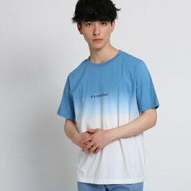 段染めTシャツ/ザ ショップ ティーケー(メンズ)(THE SHOP TK Mens)