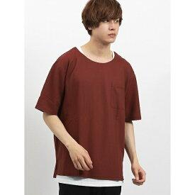 カルゼ半袖Tシャツ+タンクトップアンサンブル/セマンティックデザイン(semantic design)