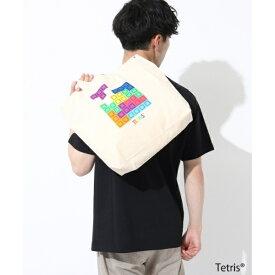 Tetris(R)テトリス2WAYキャンバストートサコッシュ/ザ ショップ ティーケー(メンズ)(THE SHOP TK Mens)